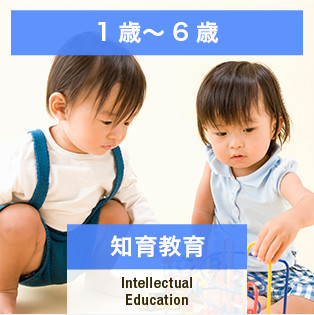 1歳~6歳 知育教育