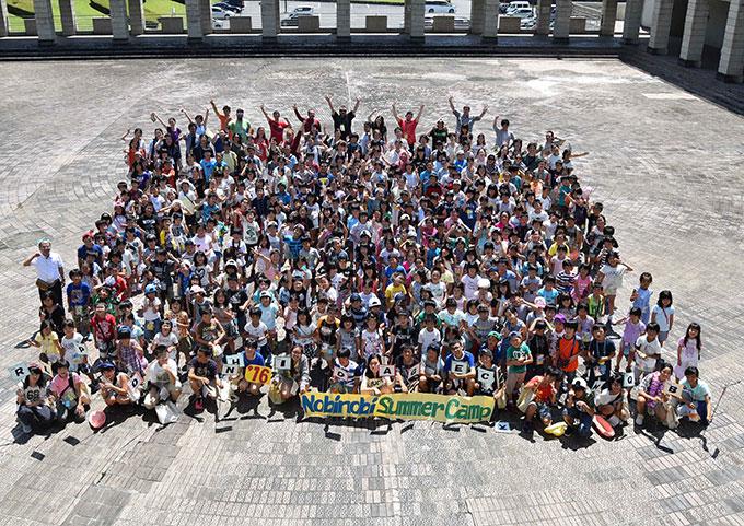 夏と冬に開催する国際交流キャンプ